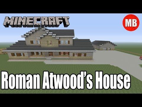 Minecraft Roman Atwood's House! | Full Property + Smile More Store!