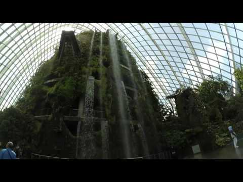 garden by the bay 27 feb 2016 @ cloud forest dome