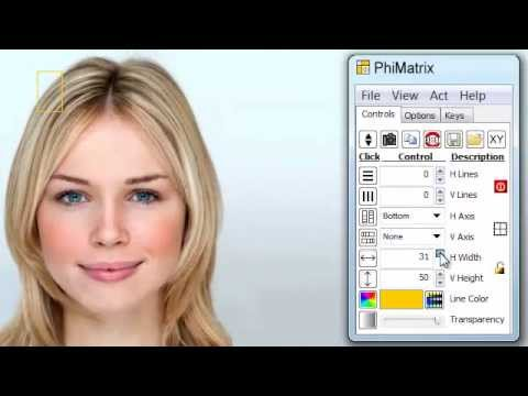 Facial Beauty Analysis and the Golden Ratio (Phi, 1.618), featuring Florence Colgate and PhiMatrix