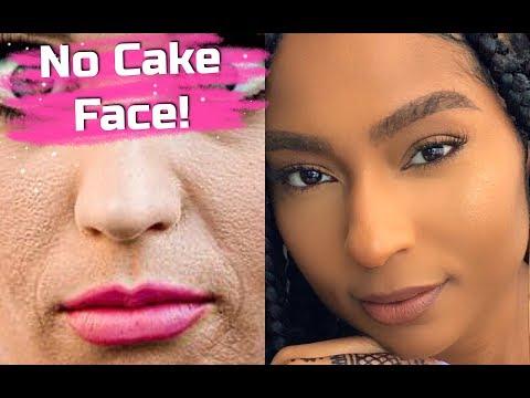 CAKE-FREE FOUNDATION TUTORIAL  Beginner Friendly Makeup Tips & Hacks