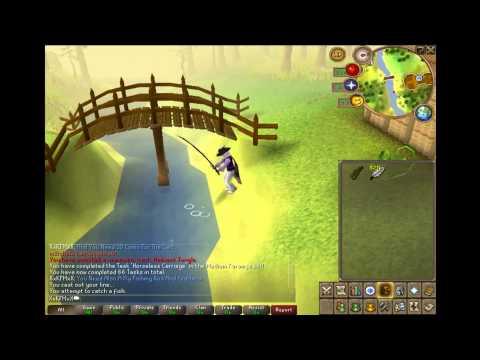 RuneScape - Shilo Village Power Fishing 60K+ Xp/H.