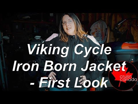 Viking Cycle's IronBorn Woman's Motorcycle Jacket First Look