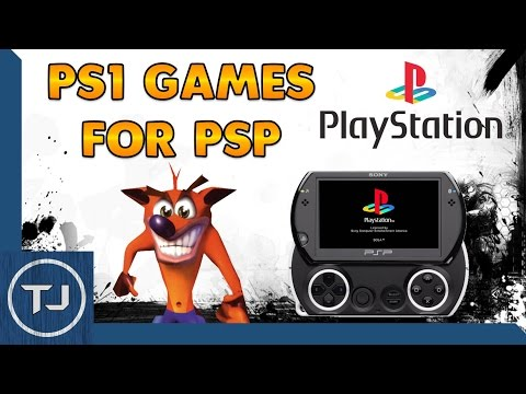 PSP/PSP GO Download & Play PS1 Games! 2017 Guide!