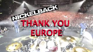 Nickelback - European Tour 2016