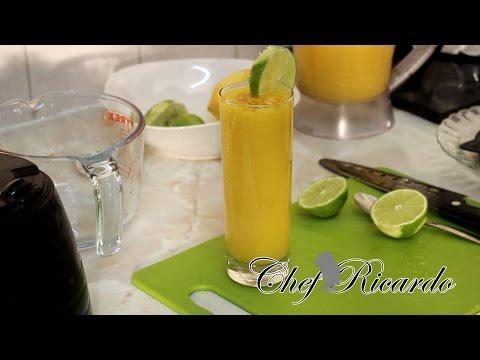 Jamaican Mango juice-Mango,Ginger and Honey