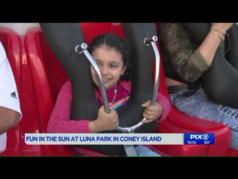 Coney Island kicks off unofficial start to summer with new ride