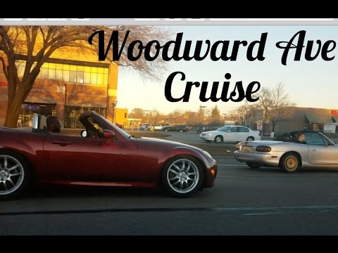 Fast Cars on Woodward Avenue!!