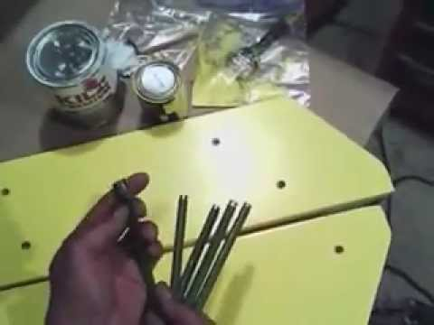 Making planer boards paint and drill part 3