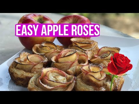 How To Make EASY APPLE ROSES🍎 - Episode 32 Baking With Ryan
