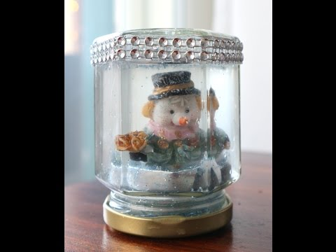DIY Christmas snowball!
