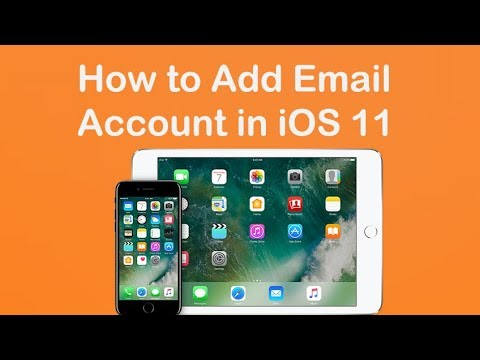 How to Add Email Account in iOS 11 on iPhone & iPad