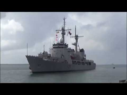 Cooperation of Philippine and Bangladesh Warship in Manila