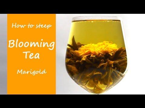 'Marigold Blossom' Blooming Tea - Flowering Tea