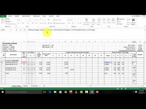 How to make Excel Sheet For BBS