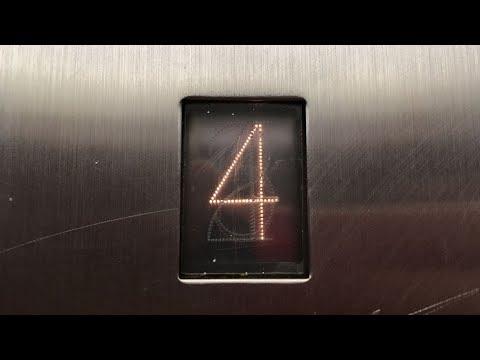Rare working indicator on OTIS Hydraulic elevator with epic motor
