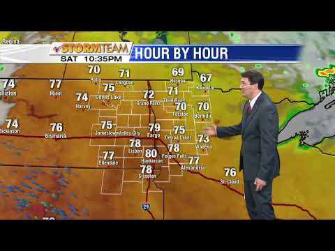 Weather 1000pm May 25th, 2018
