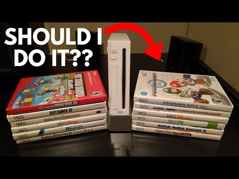 Trading In My ENTIRE Wii COLLECTION... How Much Will GameStop Pay me?? (Not What I thought...)