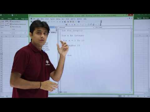 Excel VBA   For Loop Example 1