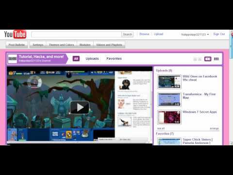 YouTube - Learn How to Change your Channel's Color Background