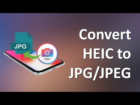 HEIC to JPG| How to Convert iOS 11Photos from HEIC/HEIF to JPG Free