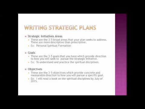 CM 4591 - Leadership Development Plan - Goals and Objectives