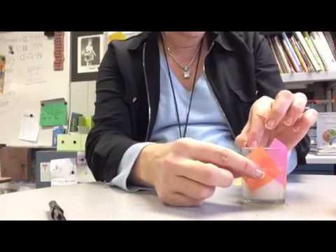 Tissue paper votives