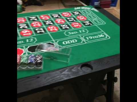 Roulette table DIY