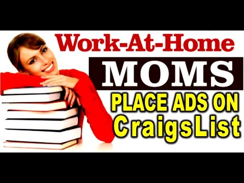 Part Time: Get Paid to Post ads on Craigslist!