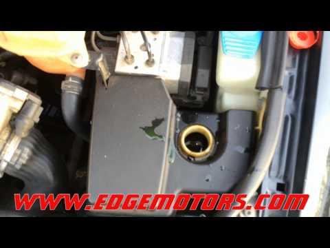 Audi VW power steering fluid flush DIY by Edge Motors