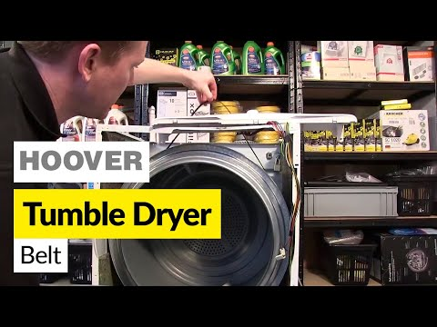 How to Replace a Drive Belt in a Tumble Dryer (Hoover)