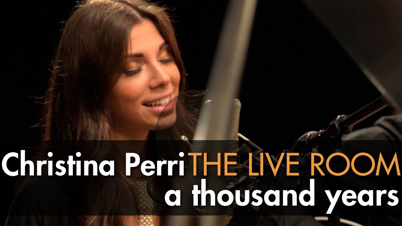 """Christina Perri - """"A Thousand Years"""" captured in The Live Room"""