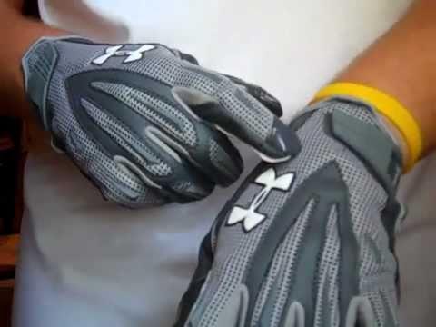 Under Armour Fierce II Football Gloves Review
