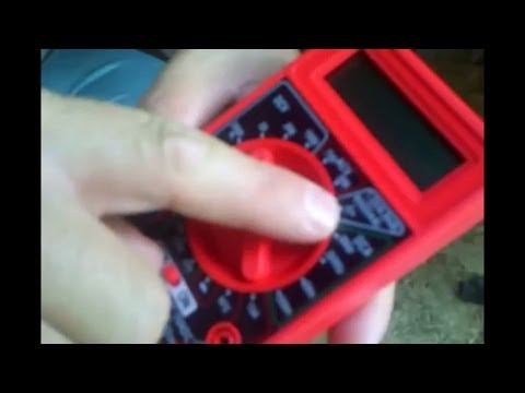 How to Use a Multimeter as a Battery Tester.
