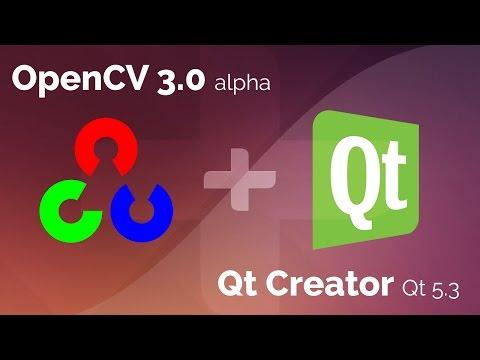 Using OpenCV on Qt Creator 3.2 (Qt 5.3)