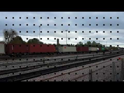 Trains Going Through Oxford