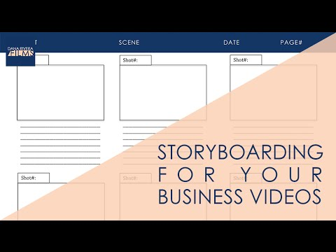 Storyboarding Basics for Your Business Videos