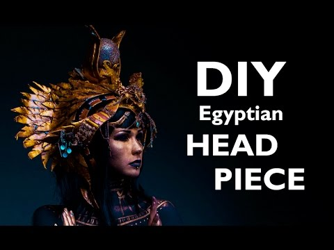 How to make an EGYPT inspired HEAD PIECE
