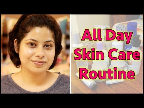 MY ALL DAY SKIN CARE ROUTINE 2018 || Secret of My Crystal Clear Glowing Skin