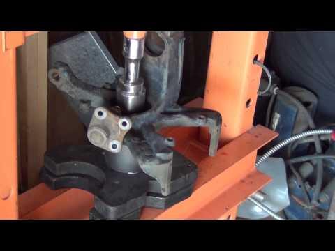 FWD Wheel Hub Bearing Remove Press Install VW Golf HIGH DETAIL