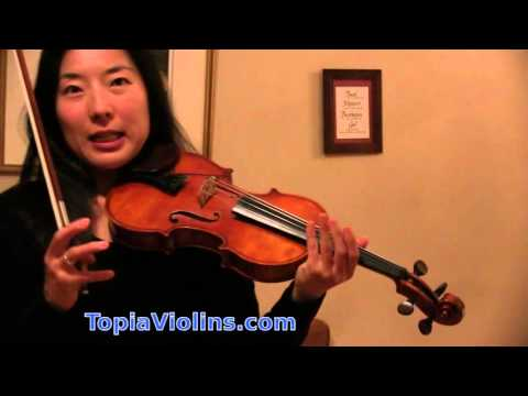 How to practice fast slurred passages on the violin