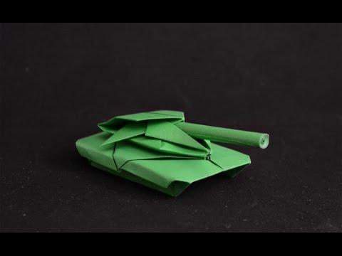 Origami: Battle Tank