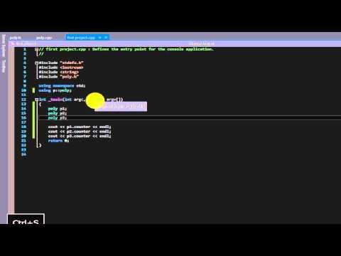 Beginner C++ tutorial 38 (static)