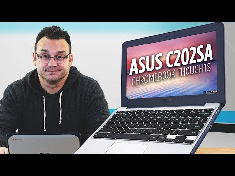 Asus Chromebook C202 Initial Thoughts