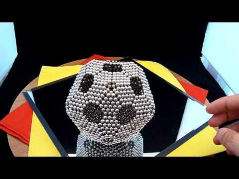 Zen Magnets:  Truncated Icosahedron Tutorial