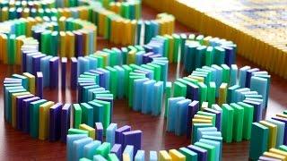 50,000 Dominoes Buildup (Behind the Scenes)