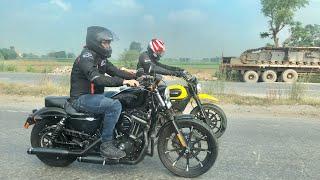 Taking Harley Davidson For Sunday Ride   Musafir Squad Sunday Drive   Musafir's Harley Davidson