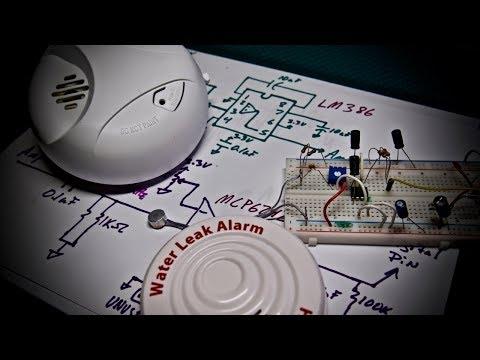 Simple Smoke Alarm Listening Circuit for Arduino