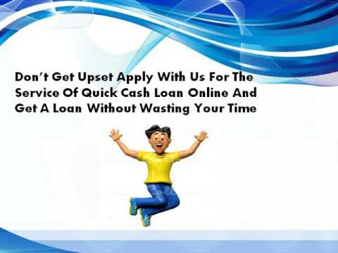 Quick Cash Loan Online- Hassle Free Money At The Time Of Crisis
