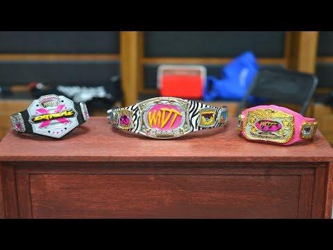 HOW TO MAKE CUSTOM WWE FIGURE BELTS!