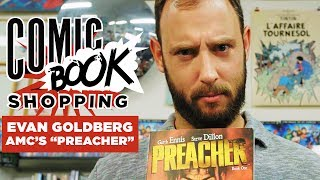 Evan Goldberg Goes Comic Book Shopping With Collider